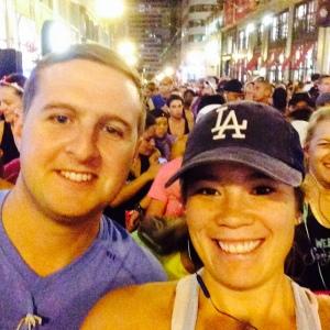 Matt and I at the starting line