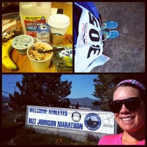 My very first marathon! Buzz Johnson Trail Run!